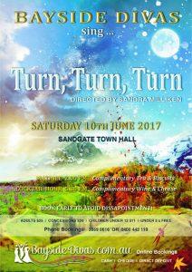 Past performances Turn, Turn, Turn